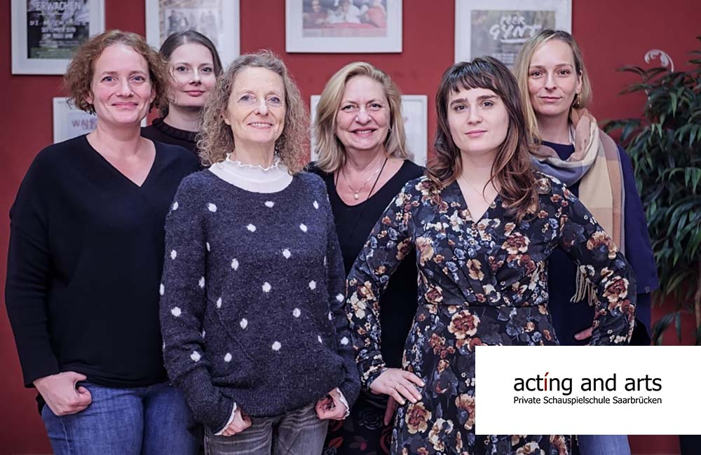 Dozentinnenteam bei acting and arts // Foto: jean m. laffitau photography studio