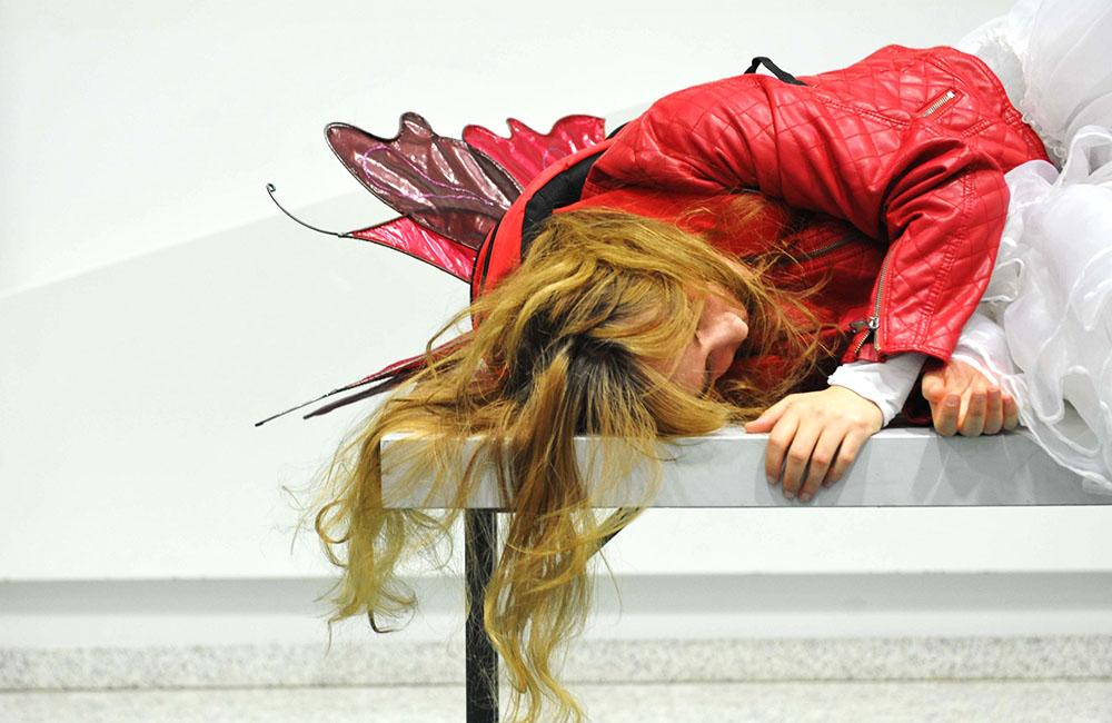 Schlafen Fische? // Foto: Jan Eichhorn